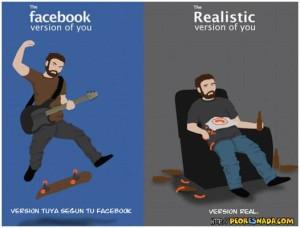 Facebook vs realidad
